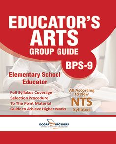 Elementary School Educator's Guide - ESE Arts Group ( BPS-9) is available here. Dogar Brothers offers you Dogar's latest and Up-to-date Educator's guide.