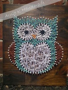 Easy Owl Wall Art — Crafthubs