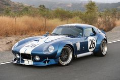 Factory Five Type 65 Coupe wide body Shelby Daytona