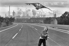 Rudi Meisel, Autobahn 42 vor der Freigabe, August-Thyssen-Huette, Duisburg-Bruckhausen, Nordrhein-Westfalen 1979 seen at c/o Berlin, Rudi Meisel. Landsleute 1977 – 1987 Two Germanys
