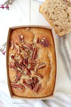 Gluten Free Banana Pecan Bread Recipe on Yummly. @yummly #recipe