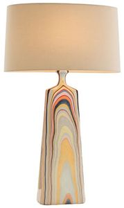 Marbled lamp. I have had my eye on this lamp for a while now. I think it's from arteriors. It's pretty poppy in person.