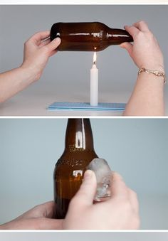 Wonder what that tool may be? It is definitly not a normal glass cutter. Cutting Glass Bottles, Bottle Cutting, Wine Bottle Art, Wine Bottle Crafts, Wine Bottle Planter, Wine Bottles, Diy Crafts To Sell, Home Crafts, Light Bulb Chandelier
