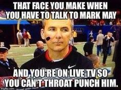 mark may memes | BAMA TIME IS ABOUT UP-THE BUCKEYES WILL SOON BE COMIN FOR Y'ALL!