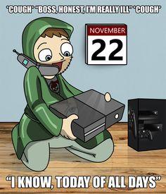 Buenas noticias para los aficionados a los videojuegos: Hoy viernes 22 de diciembre sale al mercado la nueva Xbox One. Conoce más detalles sobre esta nueva consola en el siguiente tablero. www.eheuropa.com