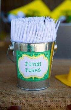 John Deere Farm Party via Kara's Party Ideas | KarasPartyIdeas.com