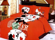 Poker bedding