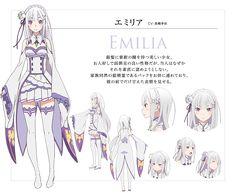 Emilia | Re:Zero kara Hajimeru Isekai Seikatsu | Re:ZERO -Starting Life in Another World-