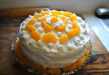 Read More About This Recip. Kraft Recipes, Cake Recipes, Easy Desserts, Fondant, Pudding, Orange, Food, Fruit Presentation, Easy Cake Recipes