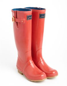 Joules rainboots - so cute, love the bows from behind | Clothes ...