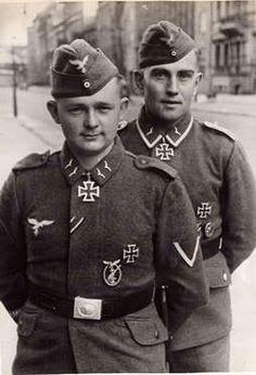 ✠ Arnold Huebner and Erich Heintze
