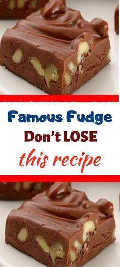 Easy Chocolate Fudge, Chocolate Morsels, Chocolate Recipes, Walnut Fudge Recipe, Recipe For Fudge, Simple Fudge Recipe, Butter Pecan Fudge Recipe, Walnut Recipes, Evaporated Milk Recipes