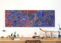 Joy Nangala Brown, Yumari Jukurrpa, 182x61cm - Art Ark Aboriginal and Indigenous art - 2