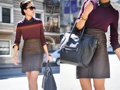 9 to 5 Chic via What the Fashion