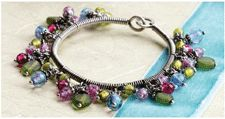 Free Wire Wrapping Project: Gypsy Wire Bangle - Daily Blogs - Beading Daily