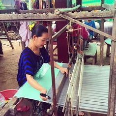 Siem Reap Cambodia is home to more than 5000 artisans who produce beautiful unique and traditional Khmer handicrafts including fine silks. These artisans are working hard to ensure their skills are passed down from generation to generation to keep the Khmer traditions alive ... #siemreap #lovesiemreap #therealcambodia #travelcambodia #supportartisans #buyfairtrade #buyhandmade #handmade #silk #weaving #handicrafts #fairtrade #ethicalfashion #fashionrev #fashionrevolution #fairtradefashion…