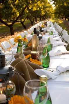 Ever want to attend a Farm to Table Dinner like this? Now you can: http://modestwanderer.com/blogs/journal/7916823-farm-to-table-dinner