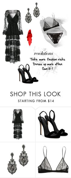 """""""2018"""" by jeafil on Polyvore featuring Alice McCall, Giuseppe Zanotti, Yves Saint Laurent, I.D. SARRIERI, chic, inspo, classy, popofcolor and goals"""