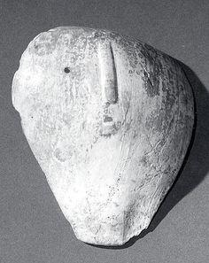 Mask, 13th–14th century, United States, Williams Island