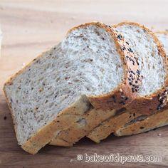 Spelt Bread, Yudane Method Bread, Soft and fluffy spelt bread, soft bread Spelt Bread Machine Recipe, Milk Bread Recipe, Wheat Bread Recipe, Spelt Recipes, Bread Maker Recipes, Easy Baking Recipes, Roti Bread, Bread Cake, Soft White Bread Recipe