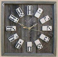 Domino clock