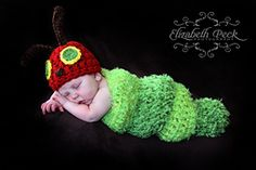Ravelry: The Very Hungry Caterpillar Crochet Pattern pattern by Elizabeth Peck
