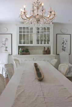 forever*cottage: French Dining Room.....{a client project}.