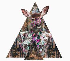 Artwork We Love: Kris Tate's Psychedelic Prints   Free People Blog #freepeople