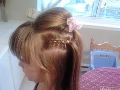 Day 33 (2 dutch french braids and a bump)