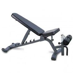 Banco musculación profesional con respaldo y asiento regulables Vision ST787
