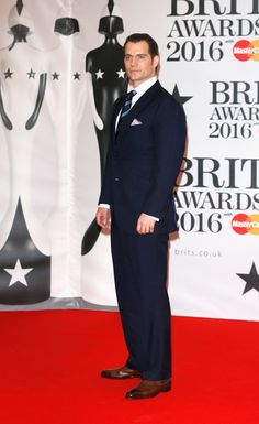 Henry Cavill Photos - Brit Awards 2016 - Red Carpet Arrivals - Zimbio