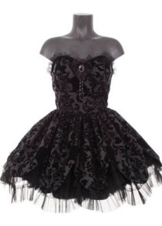 Hell bunny gothic petal dress. I'm thinking and hoping a prom dress maybe?