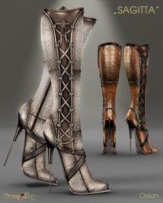 706bc730bb 38 Best SECOND LIFE - Boots images | Hot high heels, High heels ...