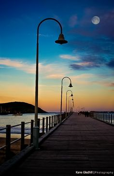 Coffs Harbour Jetty, NSW, Australia ~ by Kane Gledhill Coast Australia, Australia Travel, Beach Accommodation, Round The World Trip, Scenery Pictures, Beautiful Beaches, Beautiful Landscapes, Wonders Of The World, Places To See