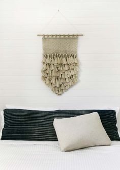 Jute Macrame Wall Hanging handcrafted by fair trade artisans in Bangladesh.