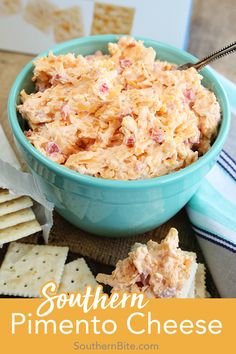 This recipe for classic Southern Pimento Cheese is quick easy and is filled with amazing flavor. It's perfect on crackers in sandwiches veggies or even melted over burger and hotdogs! I love to make grilled cheeses with pimento cheese! Homemade Pimento Cheese, Pimento Cheese Recipes, Pimiento Cheese, Making Grilled Cheese, Grilled Cheeses, Yummy Appetizers, Appetizer Recipes, Southern Appetizers, Sandwich Recipes