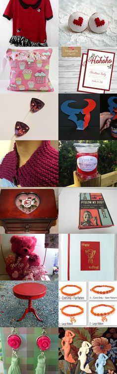 Bright Christmas by tigerlilies on Etsy--Pinned with TreasuryPin.com