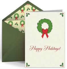 Top 10 Reasons to Send a Holiday eCard from Punchbowl