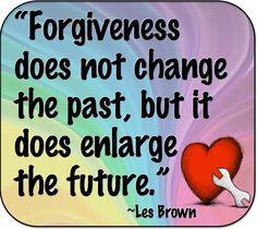 Forgiveness quote via www.Facebook.com/PositivityToolbox