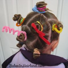 Crazy Hair Day Styles | Babes In Hairland
