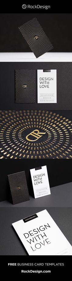 Print black and white cards online using our FREE templates! See our templates for card design ideas. Metal Business Cards, Premium Business Cards, Luxury Business Cards, Black Business Card, Business Card Design, Free Business Card Templates, Free Business Cards, Bussiness Card, Circular Pattern