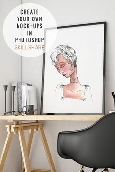 Create your own awesome mock-ups in Photoshop!  Beginners class on Skillshare