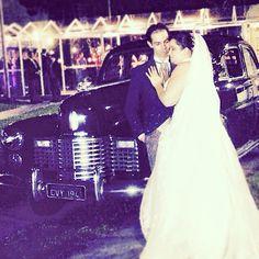 Cadillac 1941, casamento romântico !