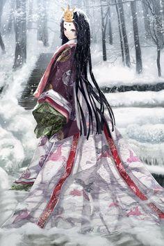Late art trade with kurozatodaiya, her character Chocola. I know that Tanabata is still far away, but anyway, here you go. Character (c) kurozatodaiya Art (c) Hachiretsu