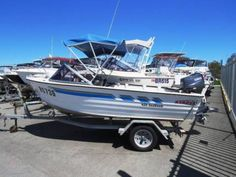 STACER 420 SEAHAWK GREAT RUNABOUT TO GET YOU OUT ON THE WATER | Motorboats & Powerboats | Gumtree Australia Wanneroo Area - Wangara | 1125933432 Power Boats, Water, Water Water, Aqua, Motor Boats, Speed Boats