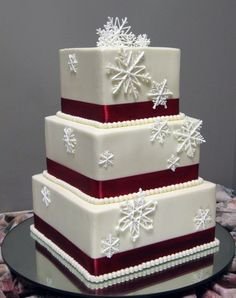 Trumps Catering: Winter Wedding Cakes - Trumps Catering: Winter Wedding Cakes  Repinly Weddings Popular Pins