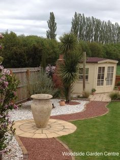 See our Photo gallery showing our decorative garden jars pots and planters in there final destination Landscaping With Rocks, Landscaping Tips, Atlantis, Woodside Garden Centre, Fire Pit Using Bricks, Large Garden Pots, Yard Care, Garden Borders, Large Flowers
