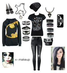 """""""Faye Silverfox's Outfit For The Concert"""" by serenity-sempiternal2006 ❤ liked on Polyvore featuring Junk Food Clothing"""