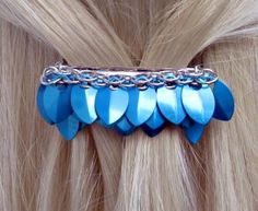 Chainmaille Barrette