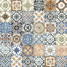 Dazzling Morroccan-inspired tiles, with intricate patterns and rich colors. Marrakesh is available in glossy wall tiles and matte finish floor tiles. Marrakesh, Porcelain Ceramics, Porcelain Tile, White Porcelain, Kitchen Backsplash Inspiration, Casa Milano, Tiles Texture, Texture Design, Decorative Tile